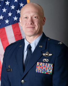 Colonel Gary R Charlton II, Commander, 107th Attack Wing