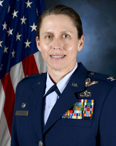Colonel Denise M Donnell, Commander, 105th Airlift Wing