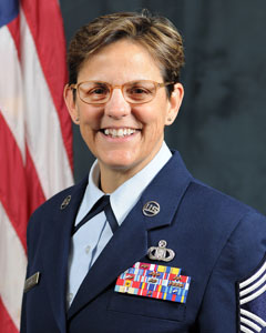 Chief Master Sergeant Maureen D Dooley, New York Air National Guard Command Chief Master Sergeant