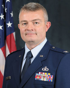 Colonel Emil J Filkorn, Commander, Eastern Air Defense Sector