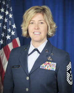 Command Chief Master Sergeant Amy R Giaquinto, New York National Guard Senior Enlisted Advisor