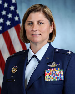 Colonel Michele L Kilgore, Commander, 109th Airlift Wing