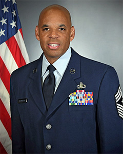 Denny L. Richardson, Command Chief Master Sergeant, New York Air National Guard