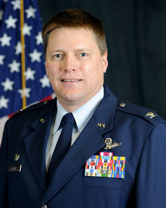 Colonel Michael R Smith, Commander, 174th Attack Wing