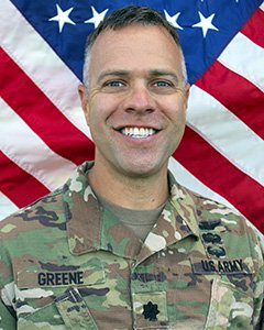 LTC Matthias (Matt) Greene, 3-142nd Assault Helicopter Battalion Commander
