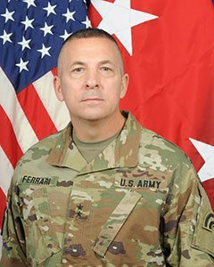 Major General Steven  Ferrari, Commander, 42nd Infantry Division