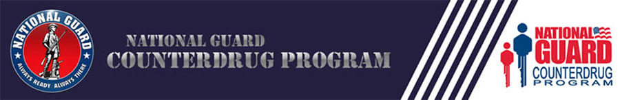 New York National Guard Counterdrug Task Force Banner