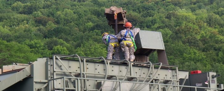 NYNG Environmental Awareness Header - 204th Engineer Battalion, Quarry Detachment, Windsor Quarry, Windsor, NY