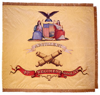 4th Heavy Artillery Flag