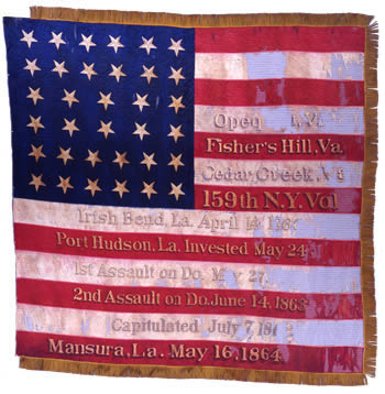 159th Infantry Flag