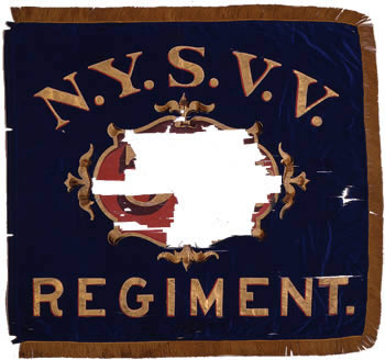 39th Regiment, NY Volunteer Infantry - Marker