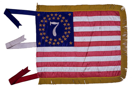 7th NY National Guard - General Guide Flag