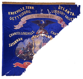 154th New York Volunteer Infantry National Color