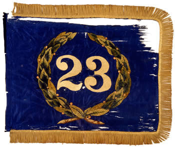 23rd NY National Guard - Marker