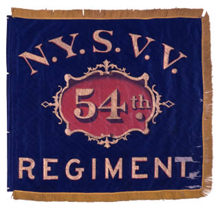 54th Regiment, NY Volunteer Infantry - Marker
