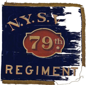 79th Regiment Flank Marker