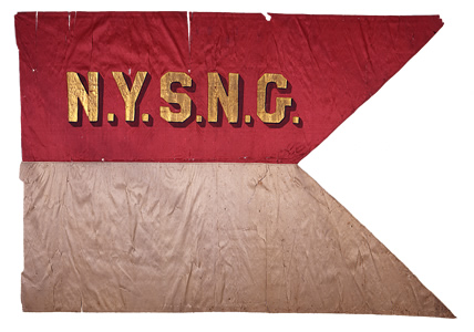 N.Y.S.N.G. Mounted Troops Guidon