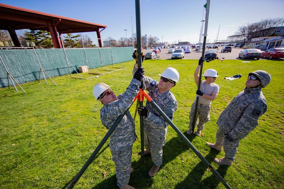 New York Guard radio team trains