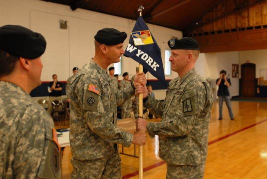 Special National Guard Unit Changes Hands
