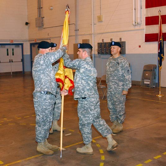 642nd Aviation Support Battalion Change of Command