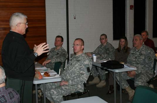 N.Y. National Guard facility managers gather for training in Saratoga Springs.
