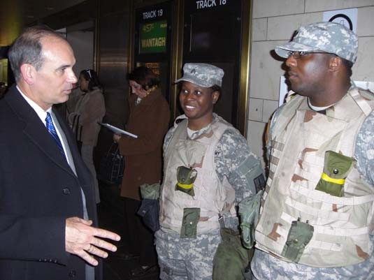 Homeland Defense meets Homeland Security Troops