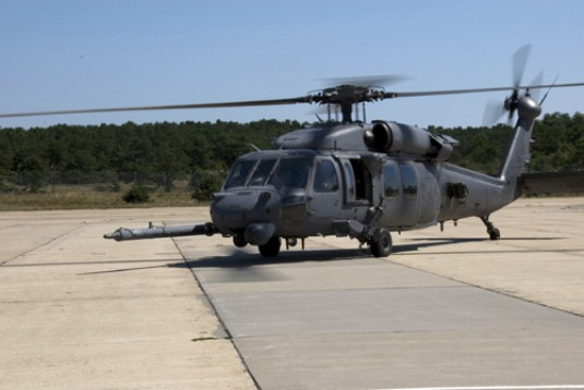 Air Guard HH-60 helcopter arrives in Gulf Coast following Hurricane Gustav