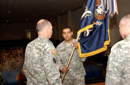 Change of Command for Historic Guard Unit
