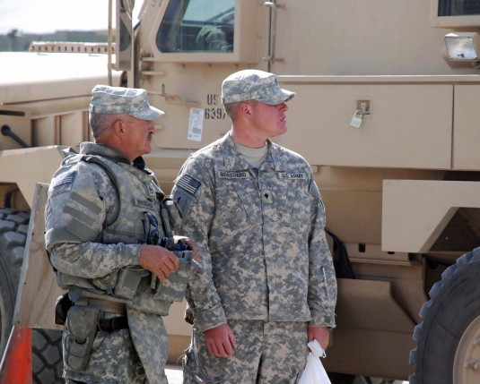 Army National Guard Father & Son Serve Together in Afghanistan