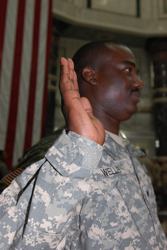 Soldiers Overseas Become Nation's Newest Citizens