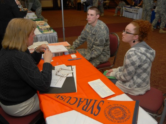 Guard Members Explore Education Opportunities