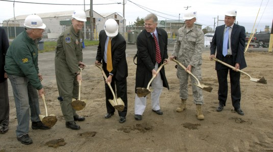 Groundbreaking at 106th Rescue Wing