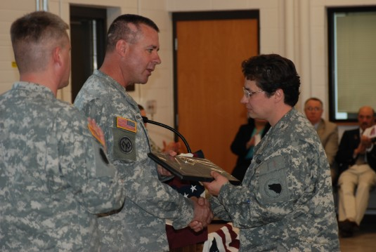 427th BSB Soldiers Honored at Freedom Salute