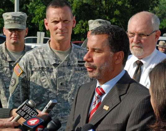 Gov. Paterson Announces Guard Activation
