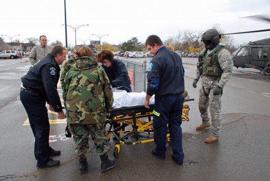 Medevac Training For Civilians and Guardsmen