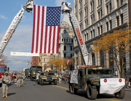 27th BCT Shows in Syracuse Parade