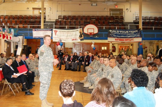 Image of 27th Financial Management Co. Freedom Salute Ceremony