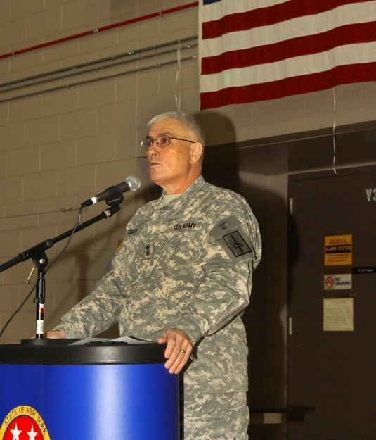 Major Gen. Joseph Taluto announces his retirement on 28 Jan. 2010