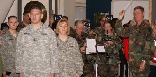New York Guard Band Honors Deploying Troops