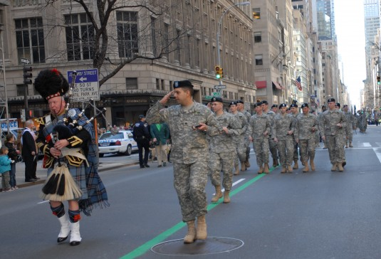 69th Infantry Marching