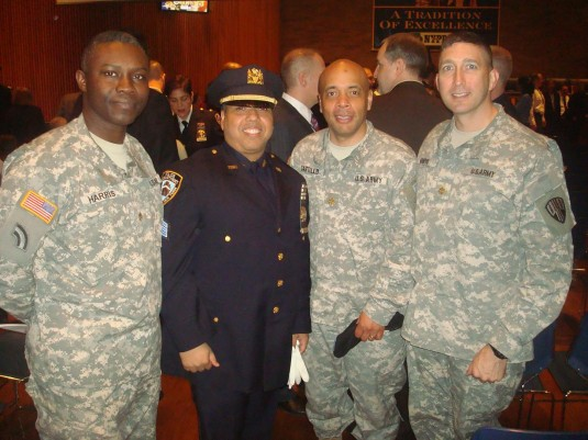 369th Harlem Hellfighters Celebrate Dual Service of Sergio Hidalgo