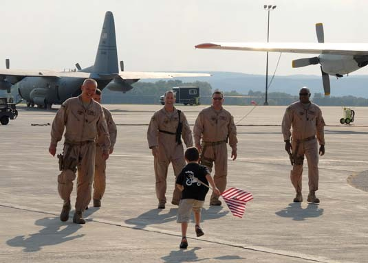 109th ARW returns from Afghanistan Sept 6, 2007