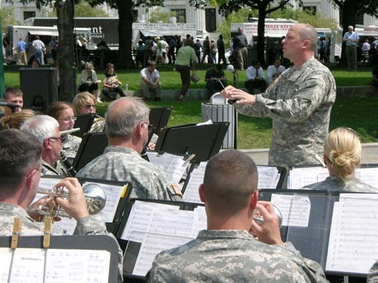 42nd Infantry Division Band Albany, NY Aug 16, 2007