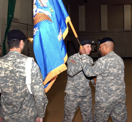 New 142nd Battalion Sergeant Major