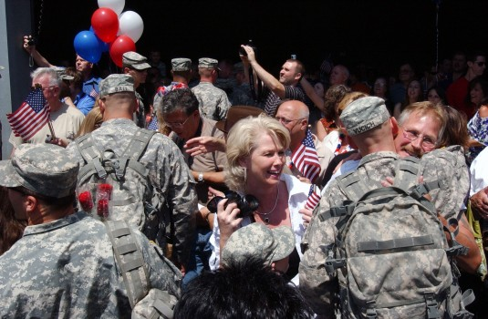 206th MP Soldiers Return Home