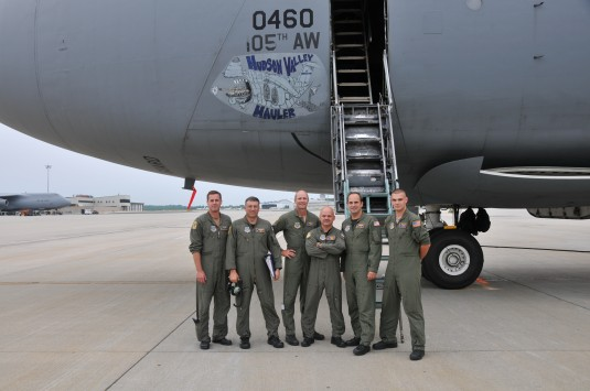 New York Air National Guard flight crew.