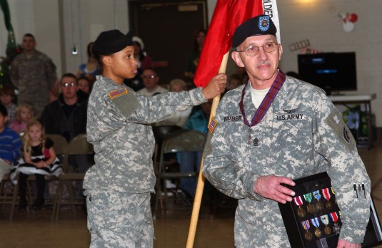 Combat Aviation Brigade Senior NCO Retires