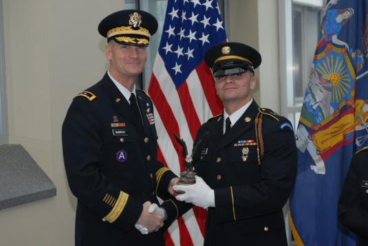 Top Honor Guard Member Recognized