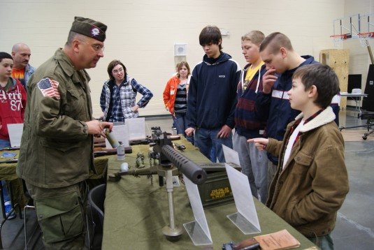 Historic Weapons on Display in Queensbury
