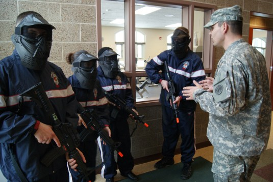 Army Guard Recruit Training